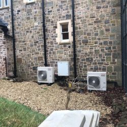 air conditioning at paschoe house